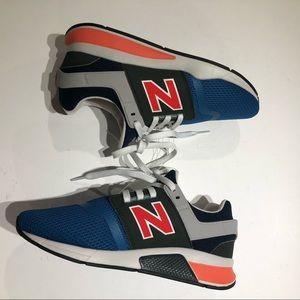 New balance 247 multicolor mesh running shoe 6.5